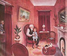 Miss Rumphius by Barbara Cooney Barbara Cooney, Children's Book Illustration, Book Illustrations, Beloved Book, Vintage Books, Golden Age, Childrens Books, Book Art, Artwork