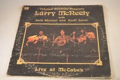 Vintage Record Larry McNeely Live at McCabes by FloridaFinders