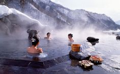 Places to Visit in Japan Where to go in Japan Rough Guides: Hot springs in the mountains? If that doesn't say pimpin I don't know what would. Photo Japon, Japan Photo, Go To Japan, Visit Japan, Japan Japan, Japan Trip, Asia Travel, Japan Travel, Travel Tips