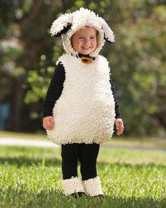 deguisement halloween Little Lamb Childrens Costume via Terrific Toddler Halloween Costume Ideas Kids Sheep Costume, Cute Costumes For Kids, Sheep Costumes, Nativity Costumes, Monster Costumes, Great Halloween Costumes, Halloween Costume Contest, Halloween Kostüm, Costume Ideas