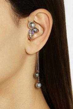 New Design Eye Makeup eye makeup look Ear Jewelry, Jewelry Art, Jewelery, Silver Jewelry, Vintage Jewelry, Jewelry Accessories, Fine Jewelry, Jewelry Design, Fashion Jewelry