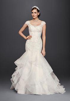 Oleg Cassini at David's Bridal Oleg Cassini Style CWG750 Wedding Dress photo