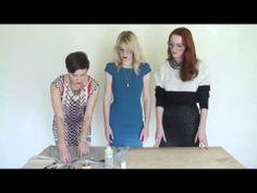 Here's How to do the DIY Jeweled Sweatshirt.
