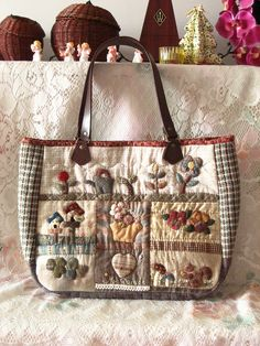 Maggie's second bag by STORY QUILT, via Flickr