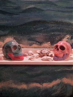 Etsy, Vintage, Painting, Shopping, Art, Skull And Crossbones, Handmade, Creative, Painting Art