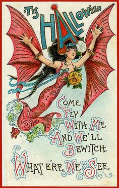Vintage Halloween Postcards | Vintage Halloween Postcard | Victorian Postcards - Halloween