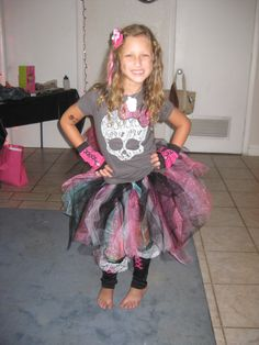Monster High themed tutu for a party