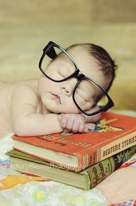 baby nerd:)
