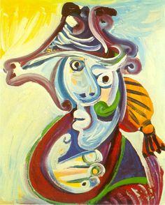 Pablo Picasso - Toreador's Head, 1971
