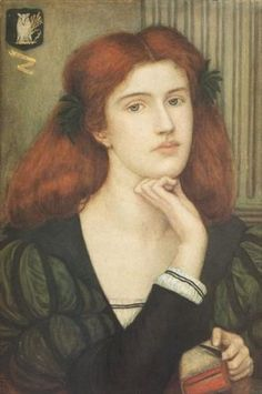 The Lady Prays - Desire (1897) by Marie Spartali Stillman :: artmagick.com