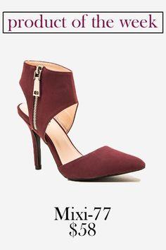 Mixi-77 High Heel // Pretty Little Shoes