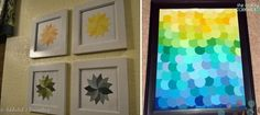 Art with Paint Swatches by loracia