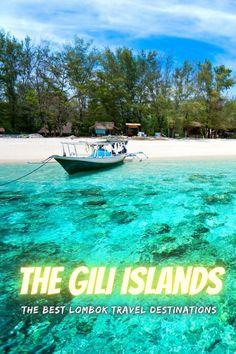 The Gili Islands are a group of 3 tiny islands – Gili Trawangan, Gili Meno and Gili Air – in Indonesia, near the coast of northwest Lombok Island. Characterized by sandy beaches fringed with palm trees, they're known for their coral reefs just offshore. . #lombok #indonesia #travel #traveling #giliisland #island #nature #bucketlist Gili Trawangan, Lombok, A Whole New World, Out Of This World, Solo Travel, Asia Travel, Travel Tips, Travel Plan, Travel Deals