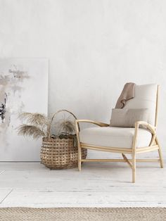 Three Interiors With An Ethnic Rustic Mix. Dream chair.