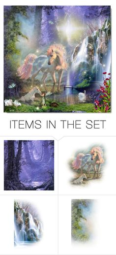 """Fantasy Forest"" by oregonelegance ❤ liked on Polyvore featuring art"