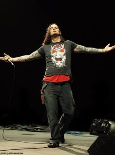 Phil Anselmo, every arrogant bit of him, I like him still