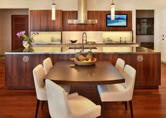 Contemporary styling with a tropical feel. Be inspired by Plantation Kitchen a Sub-Zero Wolf and Cove Contemporary Kitchen Design Contest Winner. & 37 best Tropical kitchen images on Pinterest | Tropical kitchen ...