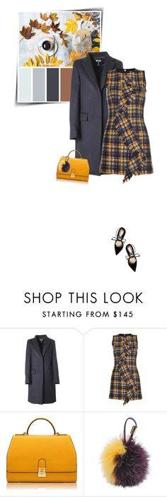 """""""MSGM outfit"""" by sophiek82 ❤ liked on Polyvore featuring moda, MSGM, Florian London, Furla, Steve Madden, women's clothing, women, female, woman i misses"""