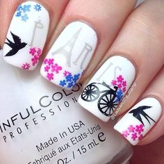 You might also like 60 Spectacular Spring Nail Designs To Get You Ready For Spring, 10 Nail Art Designs Tutorial You Need to Know for Summer, 32 Amazing Nail Design Ideas for Short Nails, Beautiful and Natural, 30 Coolest Cute Nail Art, Beautiful Nail Art, Gorgeous Nails, Cute Nails, Pretty Nails, My Nails, Kid Nail Art, Beautiful Images, Spring Nail Art