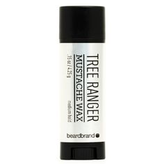 Tree Ranger Mustache Wax - A potent forest blend of eucalyptus, cedar & pine, Tree Ranger Beard Oil will leave people wondering...how does a face hug a tree? Looking for a convenient, natural mustache wax? Beardbrand's Spiced Citrus Mustache Wax comes in a portable tube that is easy to slip into your pocket. Made with natural ingredients, this wax has a pliable texture & a medium hold that will keep your whiskers tamed all day.