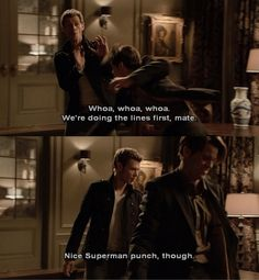 I know this is a scene in The Vampire Diaries, but since it involves the Original family, I am putting it in this folder.