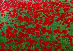 Poppies, Contemporary Art, Sweet Home, English, Painting, Home Decor, Homemade Home Decor, House Beautiful, Painting Art