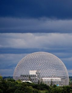 The America Pavilion for the 1967 Expo in Montreal, R. Buckminster Fuller |