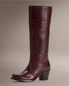 Frye Women's Jane 14L Stitch Boot - Plum