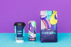 Café Buho on Behance