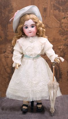27 in Eden Bebe doll by Fleischmann and Bloedel Antique dolls at Respectfulbear.com