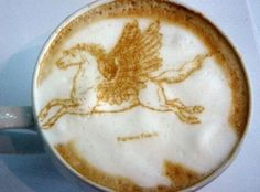 Capuccino art. This is insane.