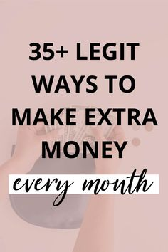I love finding ways to make extra money! I seriously believe that extra income can change your life. If you're looking to make some extra money this year, here are legit ways to make extra money! Make More Money, Make Money Blogging, Money Tips, Extra Money, Make Money Online, Selling On Craigslist, Teaching English Online, Freelance Writing Jobs, Work From Home Jobs