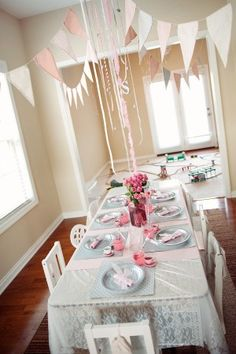 The Sweetest Occasion - Pink Train Birthday Party | photos by: Stacie Hawley Photography