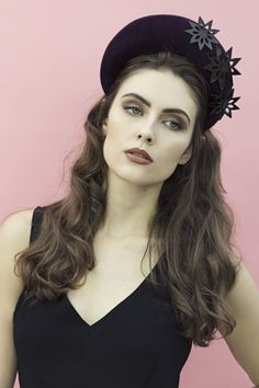 Juliet Crown by Maggie Mowbray #millinery #hatacademy
