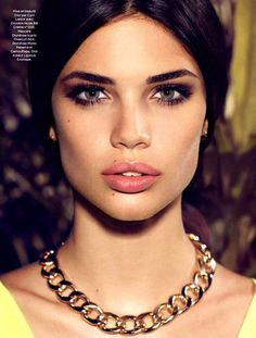 Sara Sampaio by Nelson Simoneau for Be Magazine May 2013
