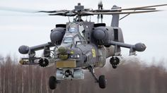 Mil MI-28- Helicopters