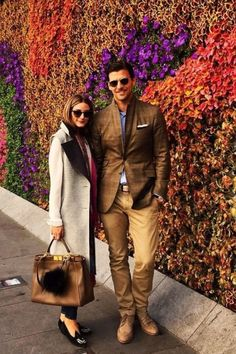 Olivia Palermo Style With Johannes Huebl December 2017