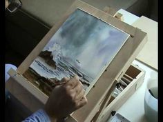 Painting a seascape in water color part 2/2 - YouTube