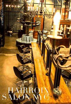 2015 #NAHA Winner for Salon Design, Hairroin Salon NYC |