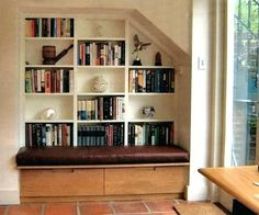 bookcase with bench seating bookcase window seat seattle bookcase walnut effect