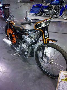 T Rod's Speedway bike at Easyriders Anaheim