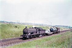 65894 on Seaton Bank on (probably) 03.07.67 (DPH B.099) | Flickr Steam Railway, North East England, British Rail, Steamers, Sunderland, Steam Engine, Steam Locomotive, Train, Explore