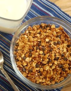 Homemade Chocolate Granola from Table for 7