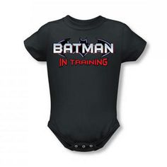 BATMAN In Training Infant Snapsuit