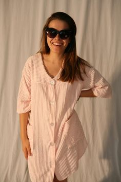 Vintage 60s Chenille Bath Robe / Beach Cover Up by StoriedVintage2, $33.00