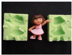 3D DORA  Silicone  Fondant Mould
