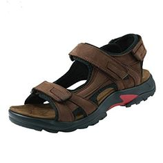 ed810fd9cae98a iLoveSIA Mens Leather Sandals Athletic and Outdoor Shoes Review Men s  Sandals