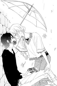Hori and Miyamura from Horimiya fav manga! Manga Girl, Manga Anime, Kawaii Anime, Manhwa, Couple Manga, Image Couple, Horimiya, Hirunaka No Ryuusei, Cute Romance