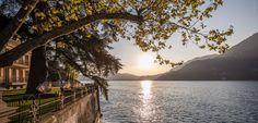 Magic #LakeComo! Book your Autumn experience now and visit our elegant 7* Resort ... www.castadivaresort.com #luxurytravel #Italy  Photo Credit: Andrea Dal Prato