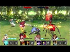 Kings Raid ACTION RPG GAMEplay - Kings Raid is a Android Free-to-play Action Role Playing Multiplayer Game featuring a team of 4 heroes each with 4 active skills and 1 passive skill